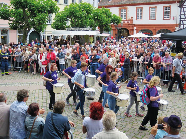 Neustadt in Europa Festumzug
