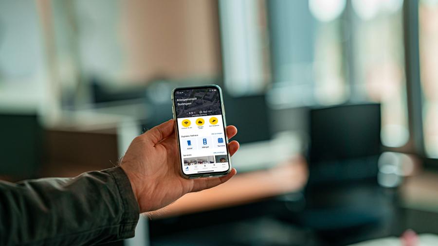 App in Solingen