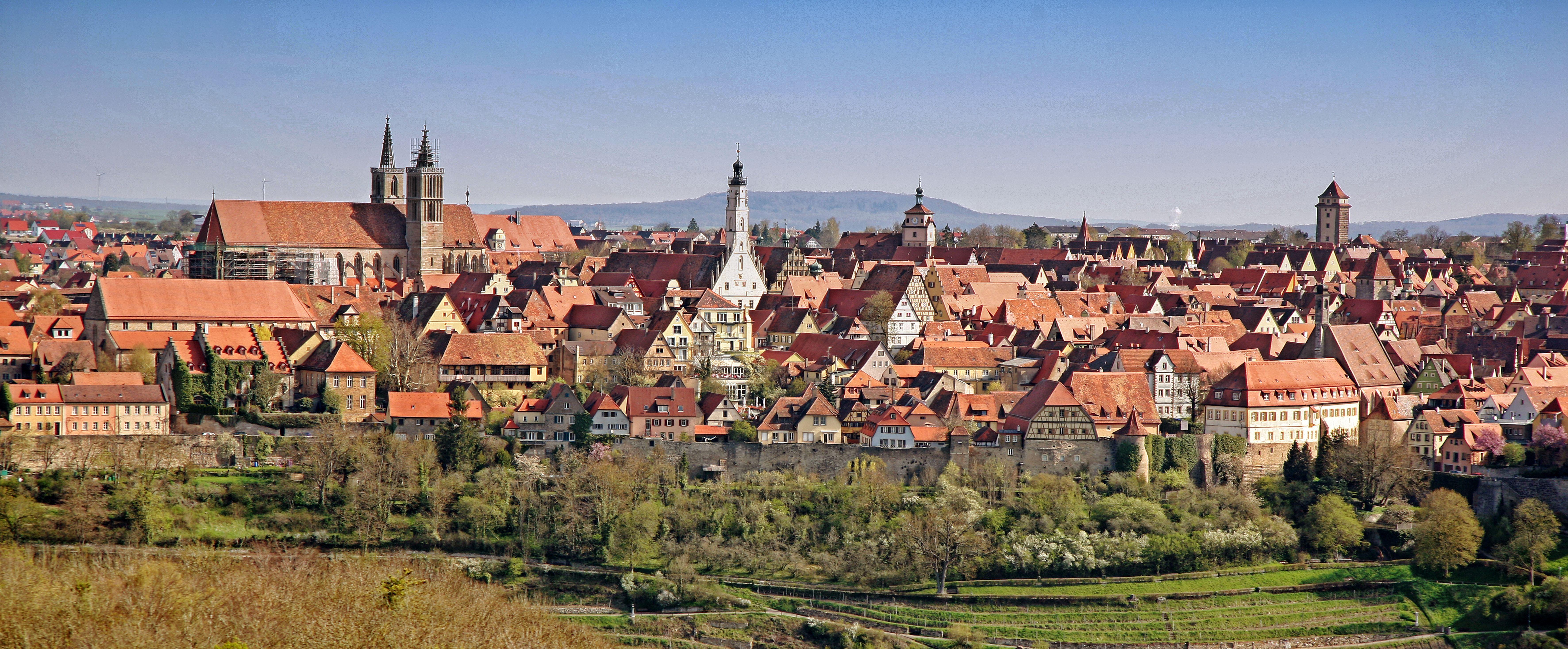 Tourismus in Rothenburg ob der Tauber