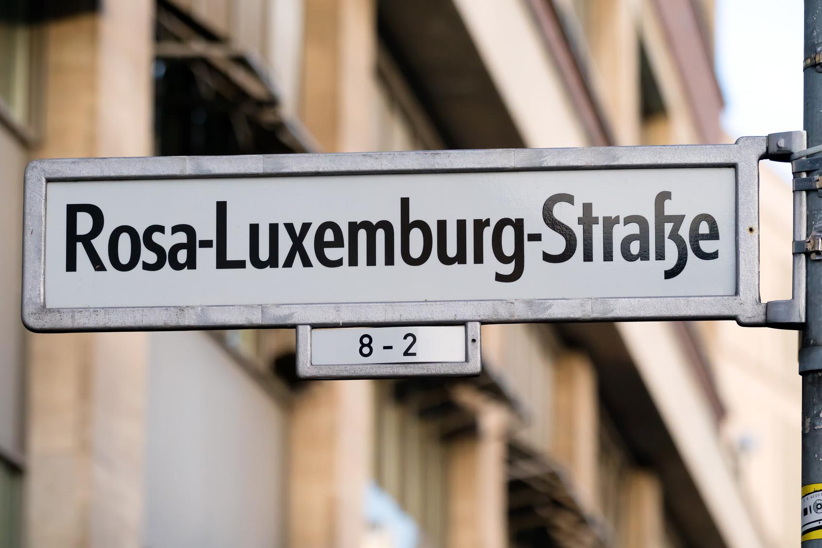 Straßen umbenennen - Straßennamen