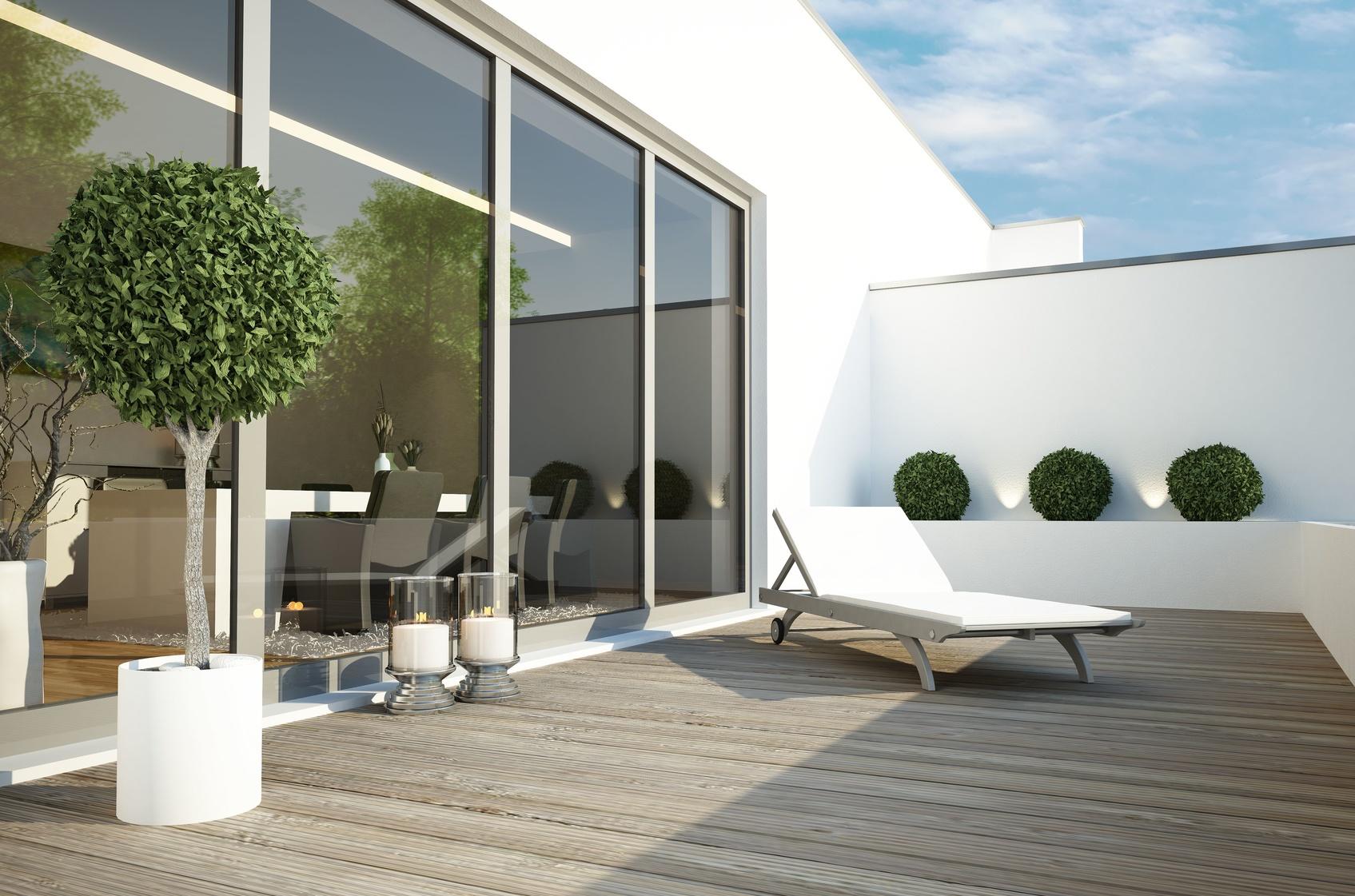 Stadtentwicklung: Neubauten mit Terrassen sind belibt