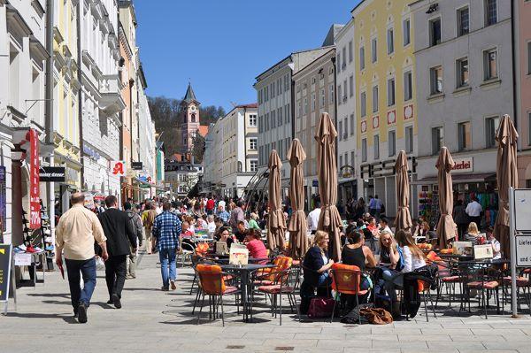 Fußgängerzone Passau