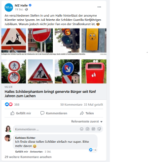 Screenshot Halle Schilderphantom mz
