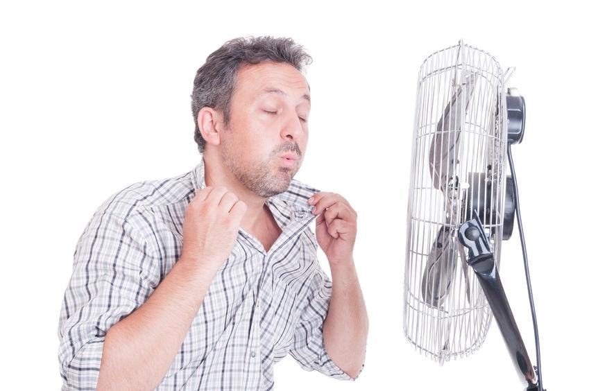 Wenn auch der Ventilator nicht mehr hilft - Hitzewelle 2018 in Deutschland