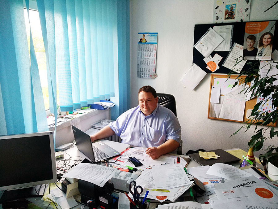 Peter Raske Geschäftsführer der Tafel Bernau