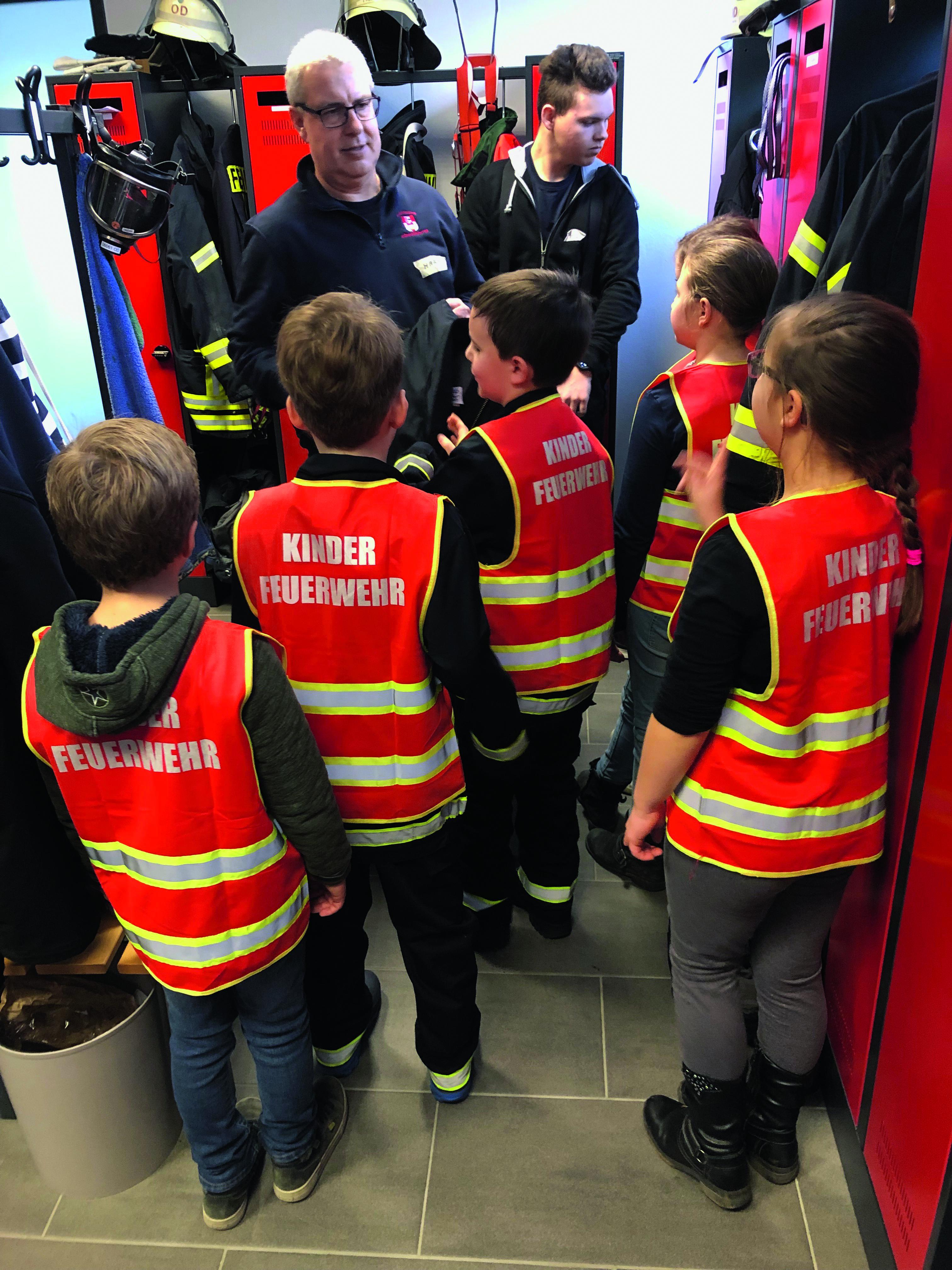 Feuerwehr bekommt neue Mitglieder in der Kinderfeuerwehr