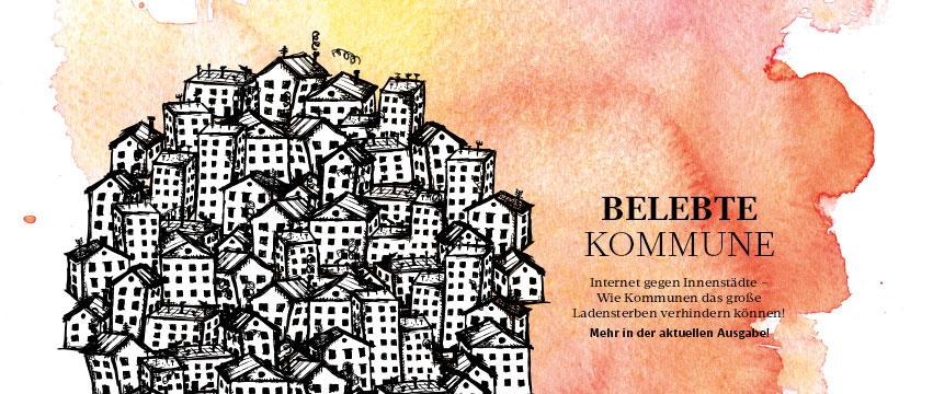 die aktuelle Printausgabe der KOMMUNAL