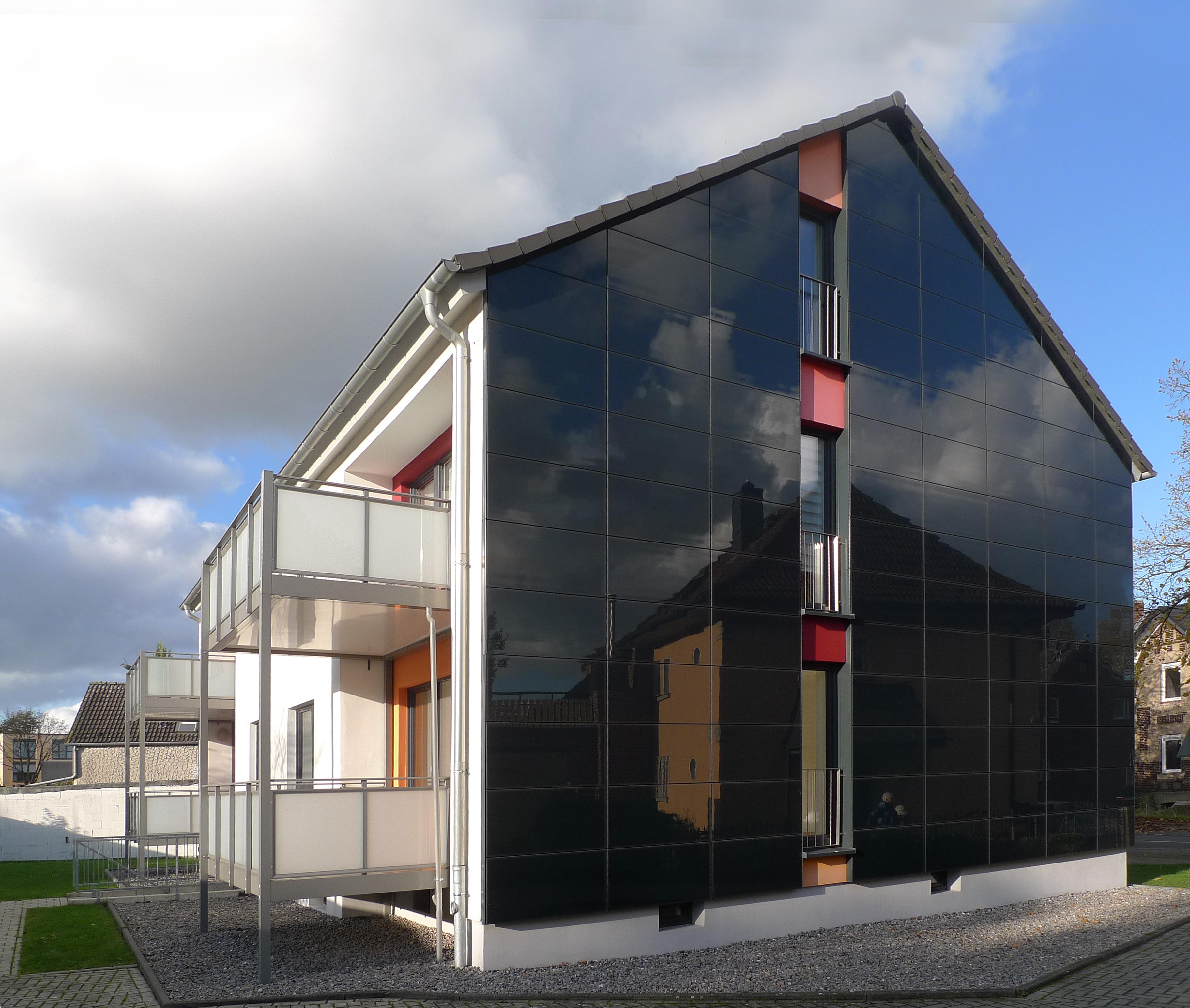Plusenergiehaus am Ostring