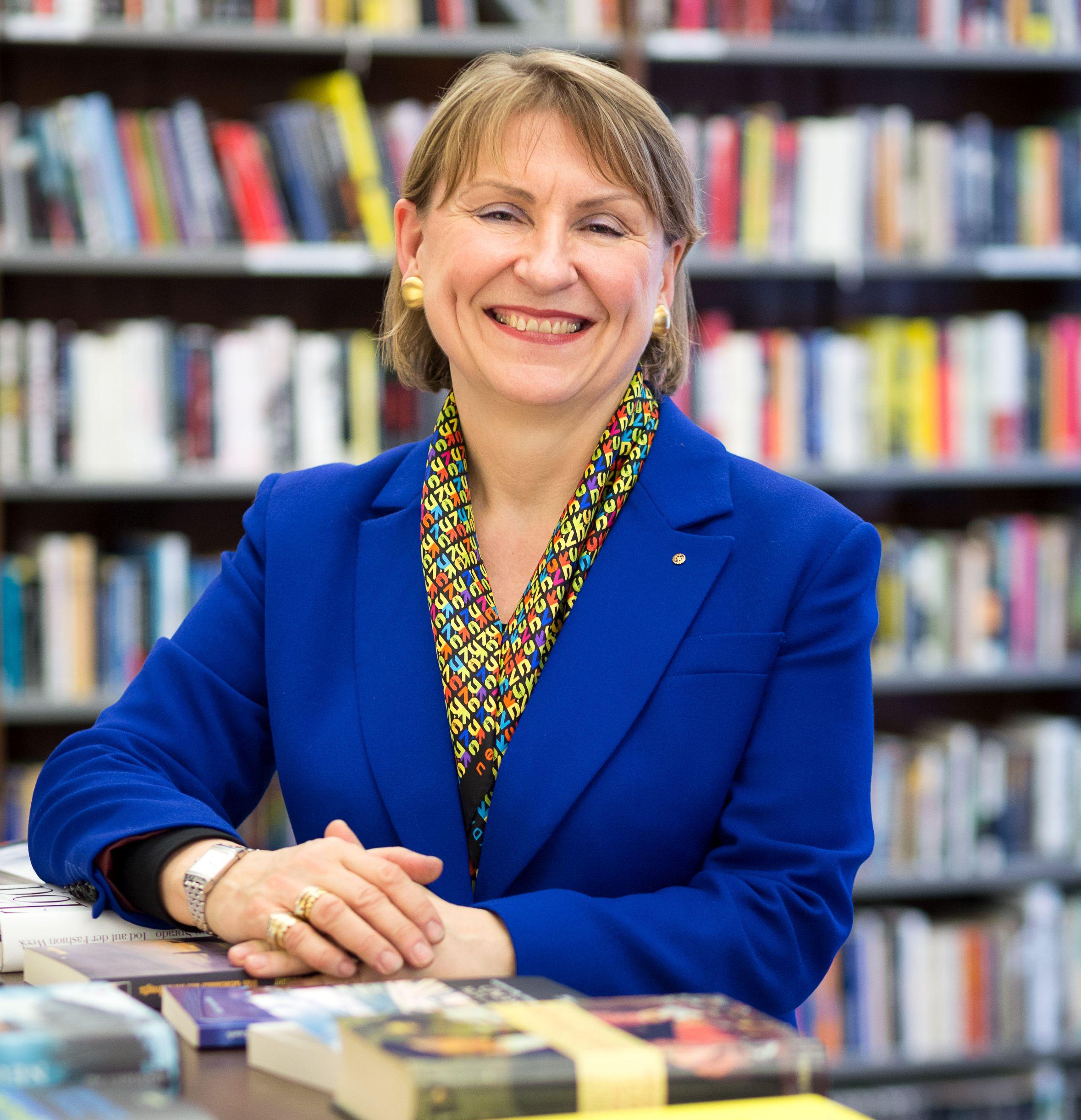 Barbara Lison, Bundesvorsitzende des Deutschen Bibliothek sverbands (c)Jan Meier