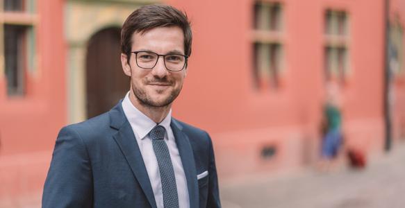 Martin Horn, OberbürgermeisterFreiburg