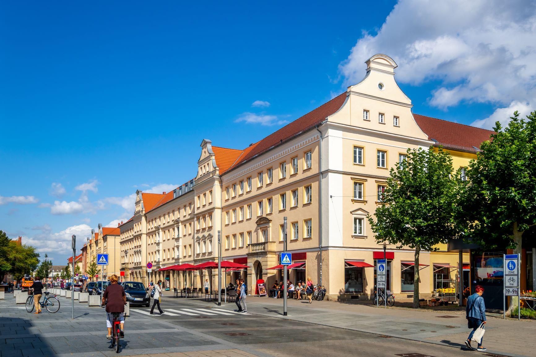 Neubrandenburg Staßenbild