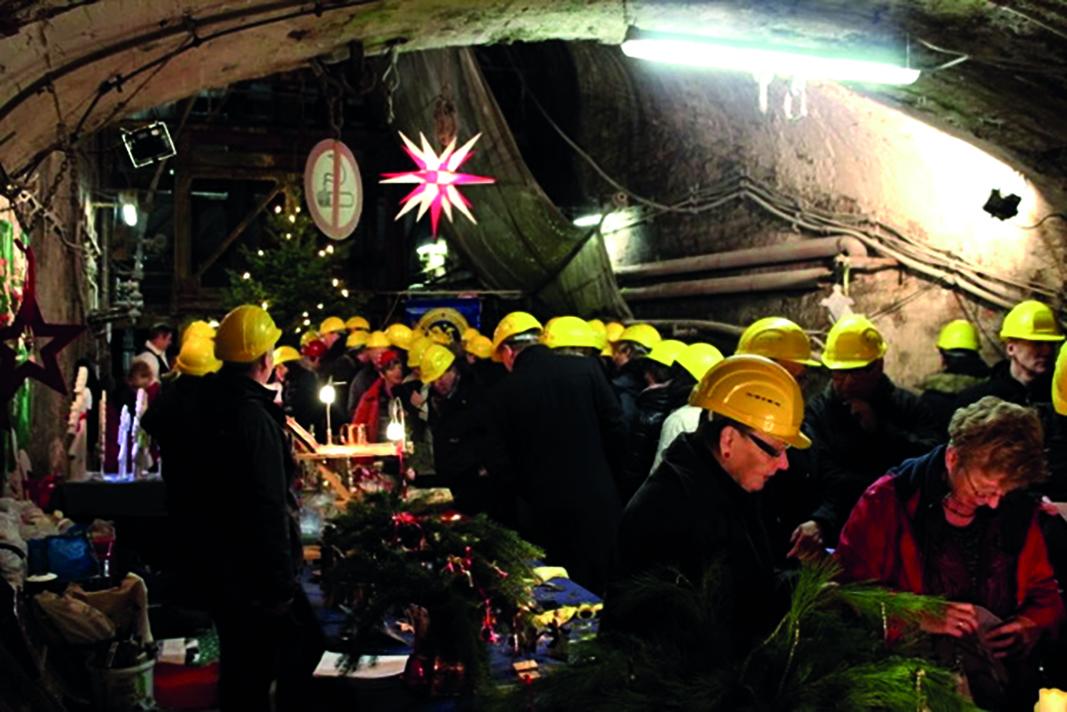 Weihnachtsmarkt im Erzbergwerk Rammelsberg