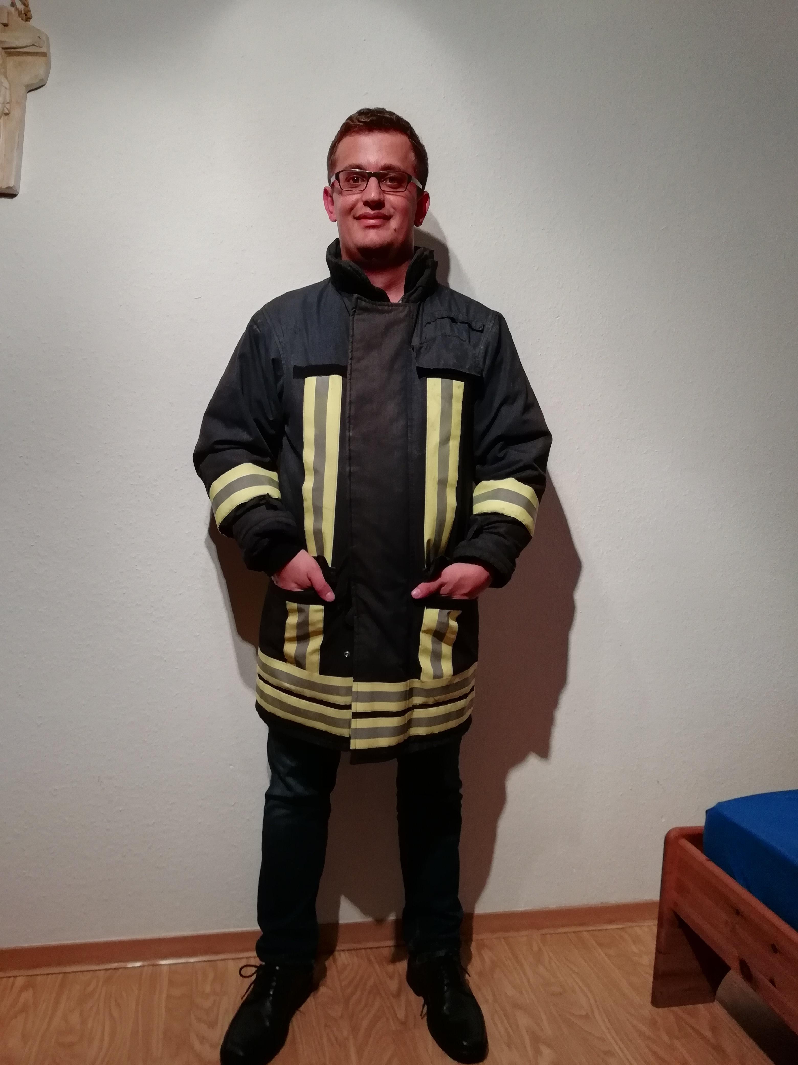 Der Autor spricht über Demenzlotsen bei der Feuerwehr