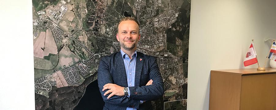 Oberbürgermeister Silvio Witt