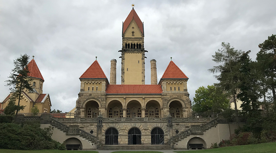 Gebäudekomplex Südfriedhof