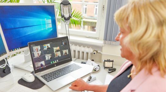 Videokonferenz Stadt Kiel