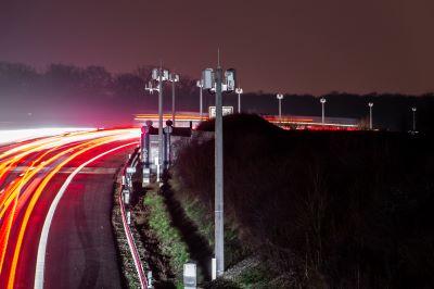 Verkehr A 39 aufgezeichnet