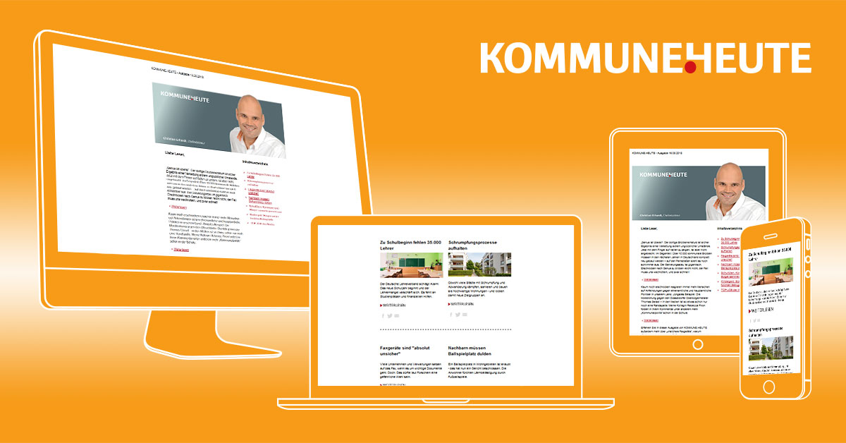 Newsletter für Kommunen