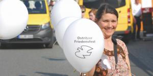 Bürgermeisterin schafft Imagewandel von der Neonazi-Stadt zur Friedensstadt