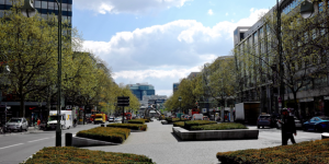 Das Städtebauprojekt soll hier nahe dem Berliner Bahnhof Zoo beginnen