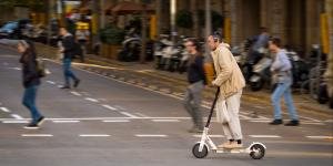 E-Scooter in Barcelona