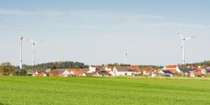 Windräder in der Nähe von Siedlungen sorgen für großen Unmut.