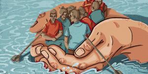 """Über 80 deutsche Städte wollen freiwillig Bootsflüchtlinge aufnehmen - sie haben sich als Verband """"Sichere Häfen"""" zusammengeschlossen"""