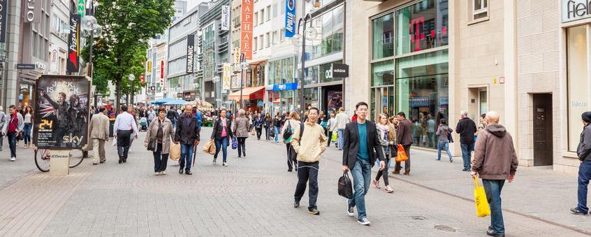 """Innenstädte bieten immer mehr """"große Ketten"""" - was die Besucher nicht gut finden"""