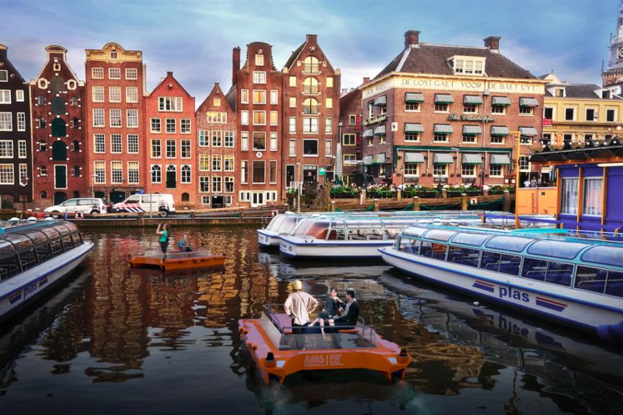 Mobilität: Autonom fahrende Boote in Amsterdam