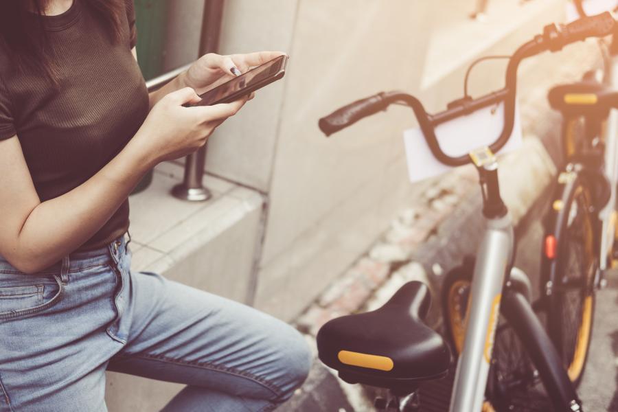 Mobilität stärken durch Leihfahrräder