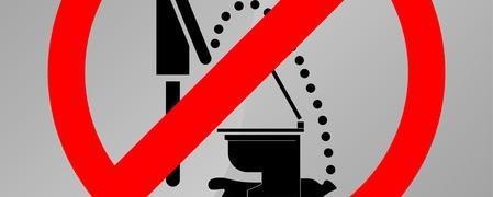 Toiletten sind in Schulen oft in einem katastrophalen Zustand
