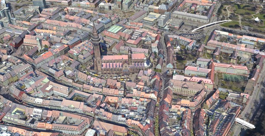Open Data: Freiburg bringt 3D-Modell raus