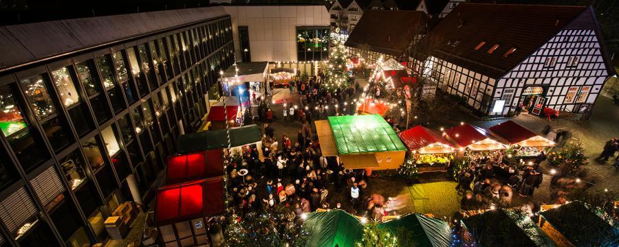 Das Weihnachtsmarkt.Weihnachtsmarkt Das Wunder Von Bünde Kommunal