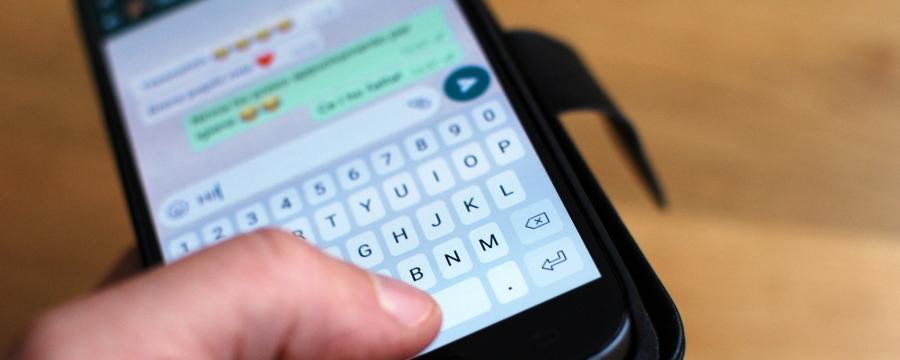 Mit dem Bürgermeister auf Whatsapp chatten