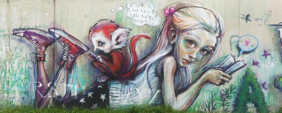 Bei Graffiti scheiden sich in den Kommunen die Geister.