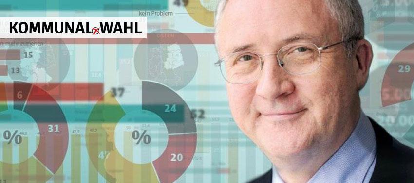 Forsa Chef Manfred Güllner bescheinigt der Kommunalpolitik gute Noten