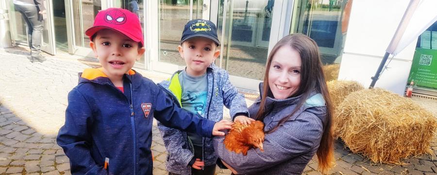Bio-Müll durch Hühner vermeiden?