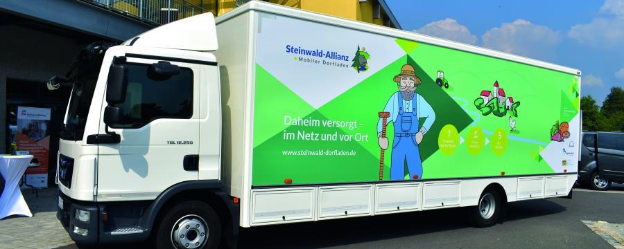 Mobiler Dorfladen der Steinwaldallianz