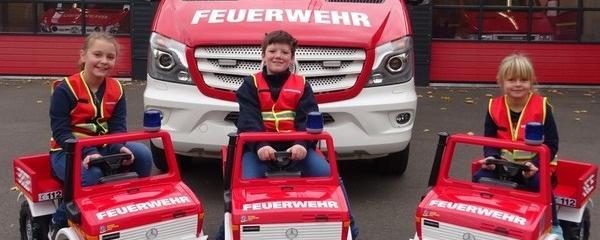 Kinderfeuerwehr in der freiwilligen Feuerwehr Königswinter