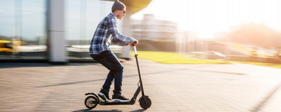 E-Scooter in Herne