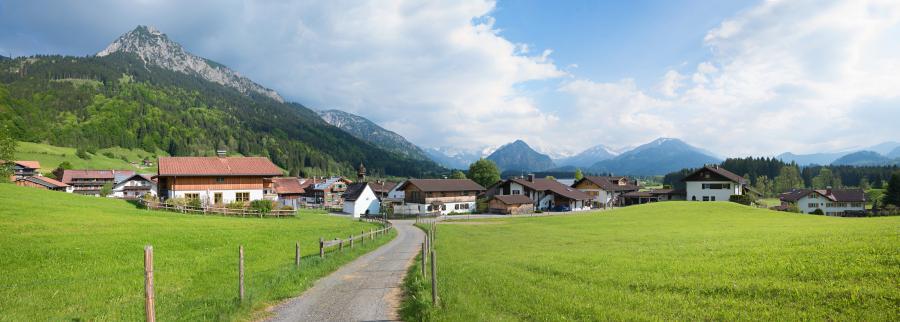 Dorf Förderung