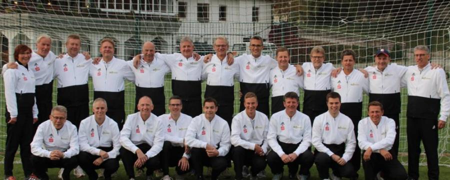 Die Fußball Nationalmannschaft der Bürgermeister - ein starkes Team fährt in die Slovakei zur EM