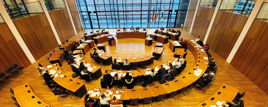 Planspiel Kommunalpolitik Ratssitzung