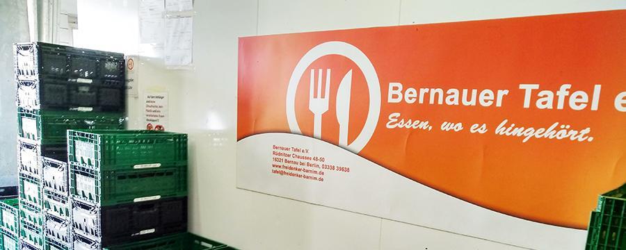 Die Tafel Bernau