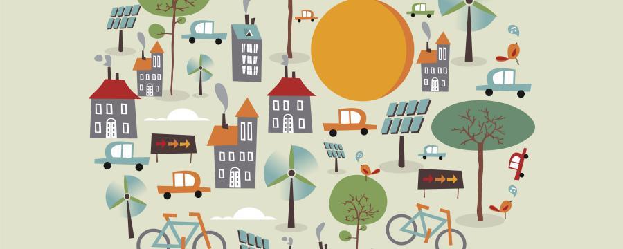 So sieht die nachhaltige Stadt aus