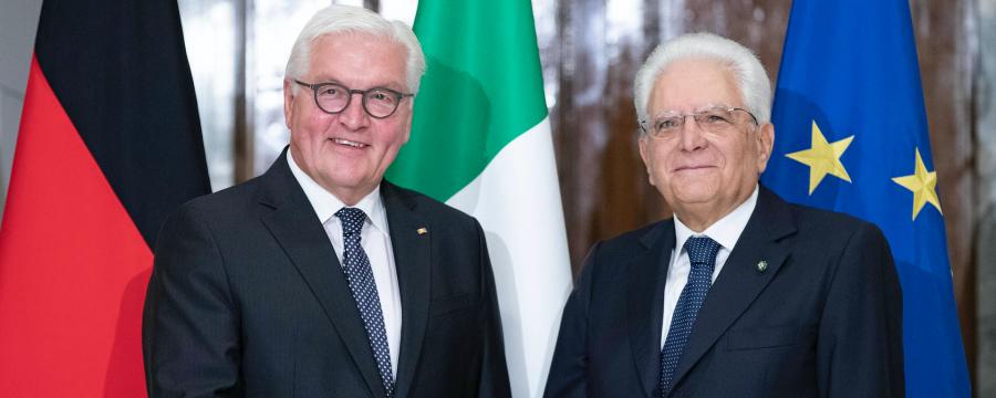 Danksagung für die Arbeit während der Corona-Pandemie: Steinmeier und Mattarella schreiben persönlichen Brief an Städtepartner in Deutschland und Italien