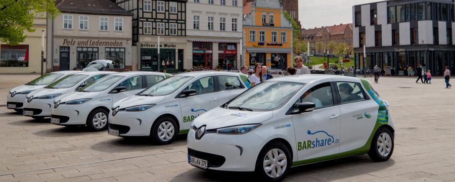 E-Autos im Kreis Barnim