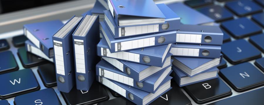 Digitalisierung statt Akten