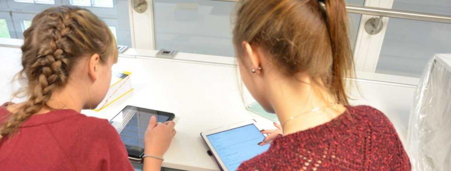 Tablet in der Schule nutzen
