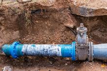 Die Wasserleitungen, nicht die Wasserknappheit sind häufig das Problem bei dieser Hitzewelle